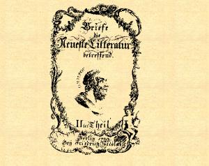 Illustration de Briefe die neueste Literatur betreffend